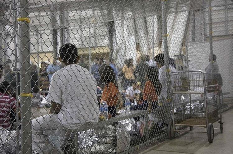 Un centro de detención en la frontera sur de Estados Unidos. (Foto Prensa Libre: Hemeroteca PL)