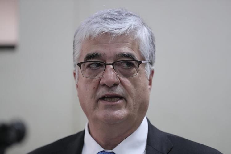 Carlos Vielmann fue exministro de Gobernación durante el gobierno de Óscar Berger (Foto Prensa Libre: Érick Ávila)