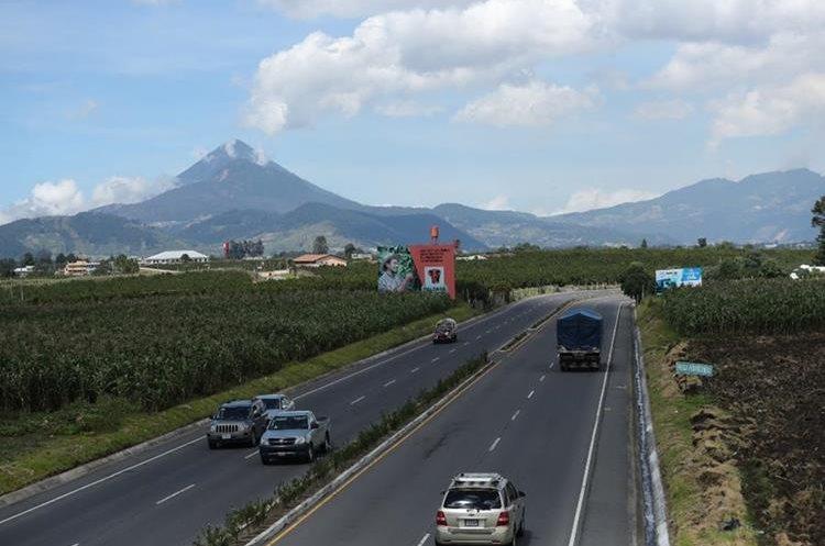 El libramiento de Salcajá comunica con Quezaltenango, San Marcos, Totonicapán y la ruta interamericana. (Foto Prensa Libre: Mynor Toc)
