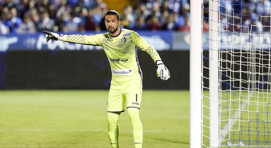 Adrián de Lemos es el nuevo portero de Antigua GFC y llegará la siguiente semana a Guatemala. (Foto Prensa Libre: La Nación de Costa Rica)