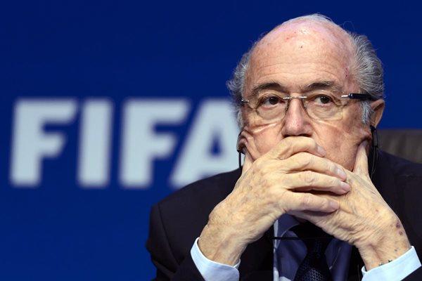 Joseph Blatter desacreditó la versión de Franz Beckenbauer, en relación a la subvención por el Mundial 2006. (Foto Prensa Libre: Hemeroteca PL)