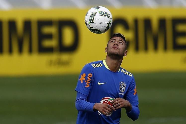 Neymar se encuentra concentrado con la selección olímpica de Brasil en Teresópolis. (Foto Prensa Libre: EFE)