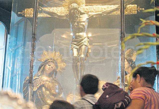 Cristo Negro, venerado en la Basílica de Esquipulas, Chiquimula, Guatemala. (Foto: Hemeroteca PL)