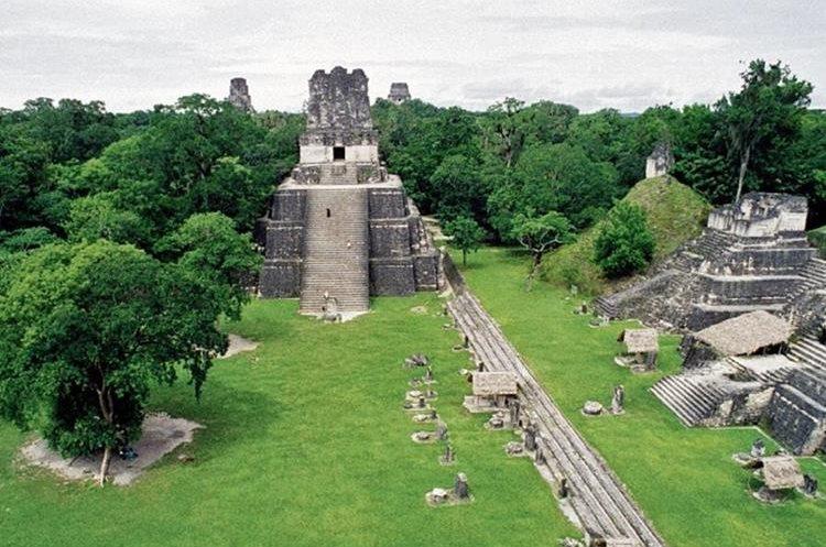 Tikal fue declarada Patrimonio Cultural de la Humanidad por la Unesco y 1979. (Foto Prensa Libre: Hemeroteca PL)