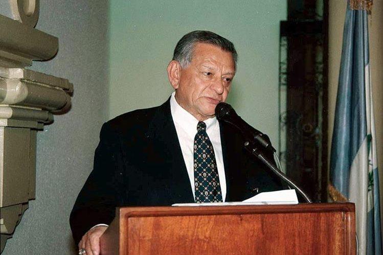Abundio Maldonado, en 2011. (Foto Prensa Libre: Hemeroteca PL)
