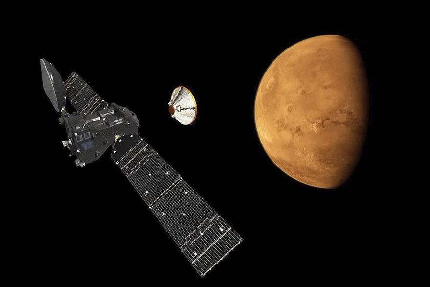 Ilustración muestra la Misión ExoMars europea. (EFE)