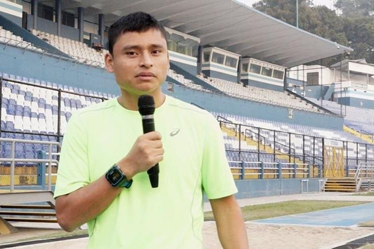 El marchista Érick Barrondo extrañará Guatemala durante su estadía en España.(Foto Prensa Libre: Jorge Ovalle)