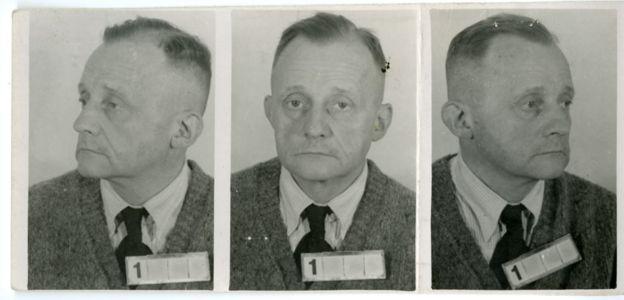 El holandés Nikolaas Van Nieuwenhuysen fue el sádico médico del campo de concentración y tras la guerra fue sentenciado a 10 años de prisión. ARCHIVO NACIONAL DE HOLANDA