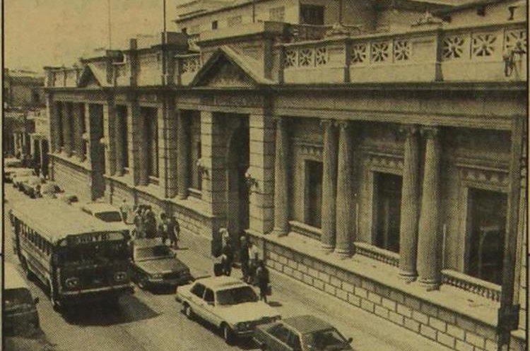 Fachada del Congreso de la República en 1994. (Foto: Hemeroteca PL)