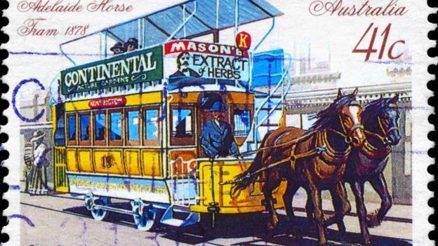 Un autobús... a caballo. THINKSTOCK