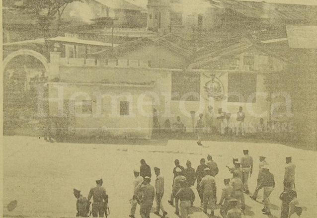 Patio central de la Penitenciaría en 1964. (Foto: Hemeroteca PL)