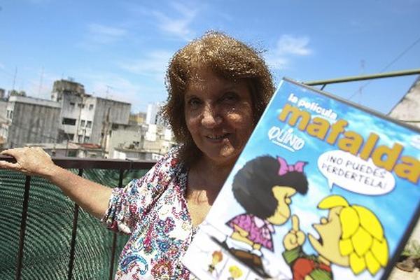 Susana Klein ha sido la voz de Mafalda. (Foto Prensa Libre: EFE)