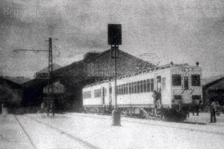Ferrocarril de los Altos en una de las estaciones. (Foto: Hemeroteca PL)