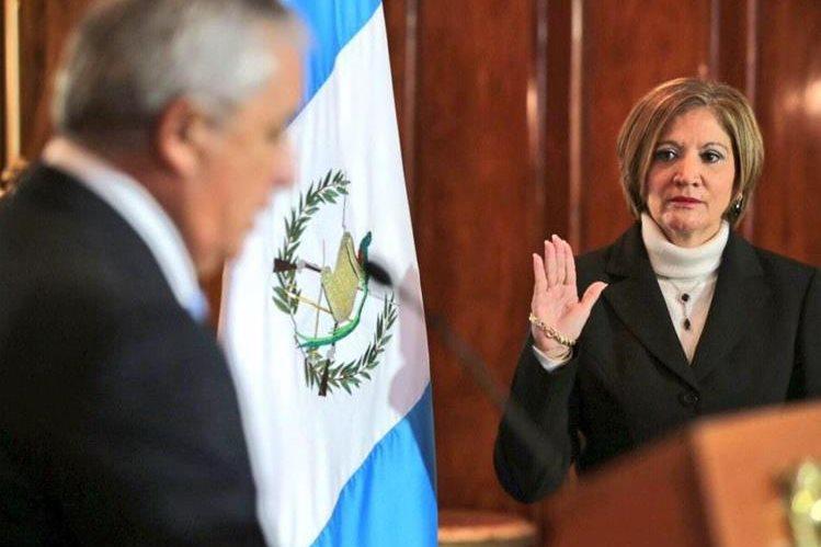 María Eugenia Villagrán dirige la PGN desde diciembre de 2014.