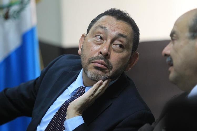 Mauricio López Bonilla, exministro de Gobernación reclamado en extradición por Estados Unidos. (Foto Prensa Libre: Hemeroteca PL)
