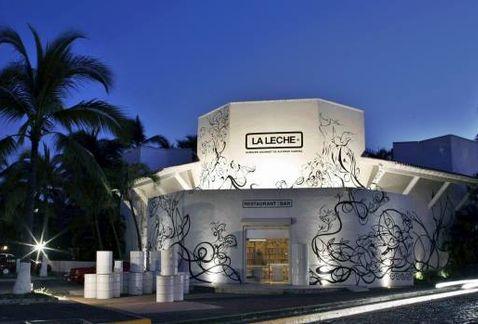 Este es el restaurante donde se produjo el secuestro masivo. (Foto: @Milenio).