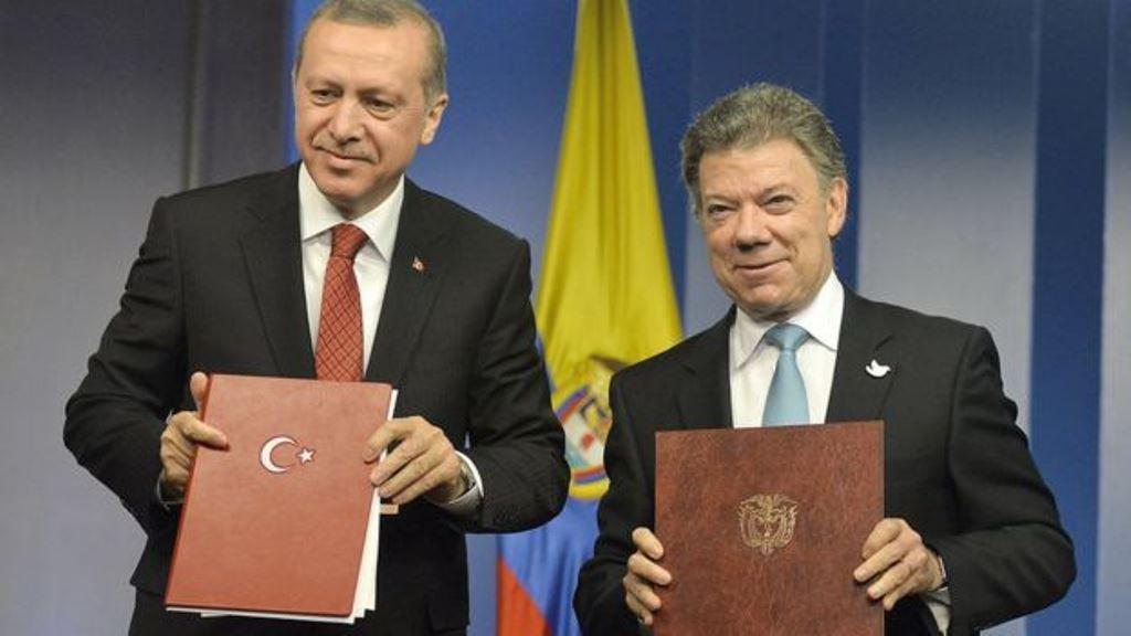 En los últimos años Turquía ha suscrito numerosos acuerdos comerciales con varios países latinoamericanos. AFP