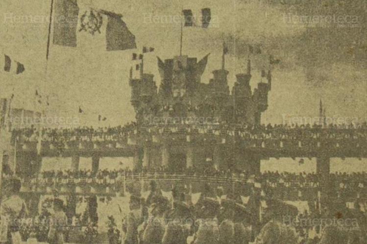 Celebración del día del Ejército en el Campo Marte en 1963. (Foto: Hemeroteca PL)