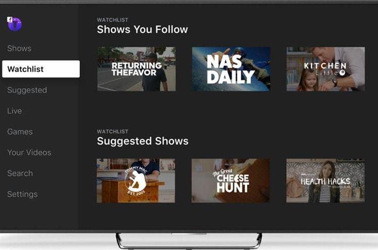 """""""Facebook Watch"""" es una plataforma para que todos los creadores y editores encuentren su audiencia"""