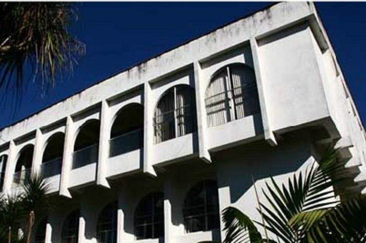 Edificio del Organismo Judicial en Alta Verapaz. (Foto Prensa Libre: Cortesía Organismo Judicial)