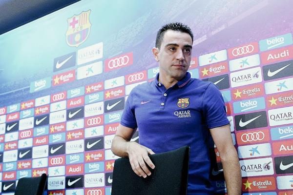 Luego de hacer oficial su retiro del Barcelona, Xavi Hernández ha recibido muchos mensajes de apoyo. (Foto Prensa Libre: AFP)