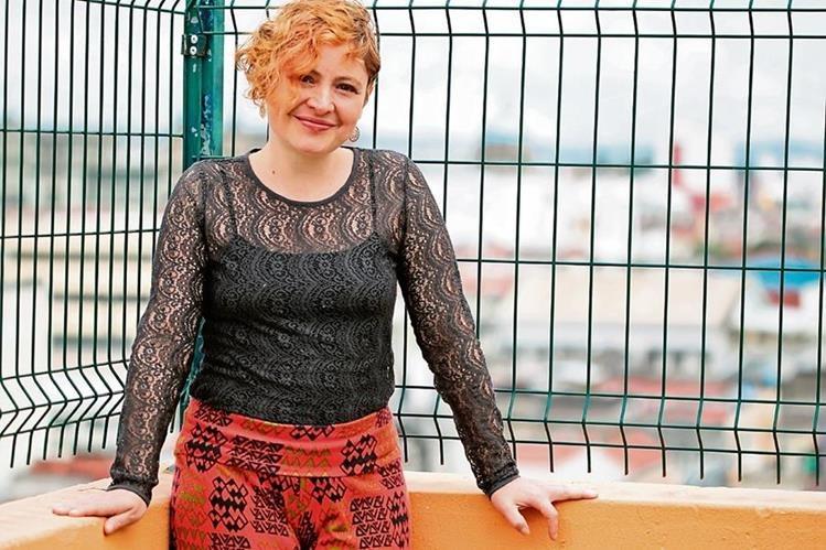 La cantautora viajará a Sudamérica el 14 de octubre para representar al país en el festival de música. (Foto Prensa Libre: Ángel Elías).