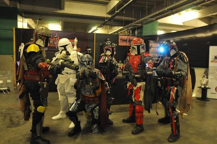 La Mega-Con 2016 se realiza este sábado y domingo en Arkadia, zona 10. (Foto Prensa Libre: Ana Lucía Ola)