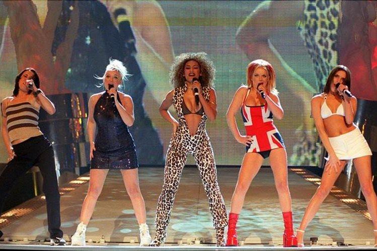 Las Spice Girls planifican gira. (Foto Prensa Libre: Hemeroteca PL)