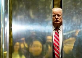 El magnate inmobiliario Donald Trump irrumpió como un huracán en la política, venció a sus adversarios republicanos y ahora está por jurar como presidente de los Estados Unidos de América. (Foto Prensa Libre: AFP)