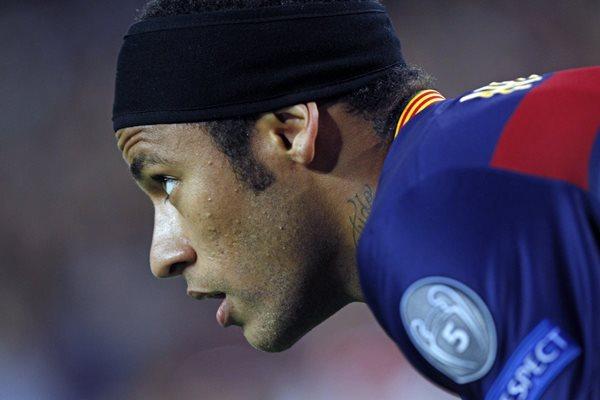 El delantero brasileño del FC Barcelona Neymar Da Silva, durante el partido frente al Bate Borisov de la cuarta jornada de la fase de grupos de la Liga de Campeones que se disputó ayer en el Camp Nou (Foto Prensa Libre: EFE)
