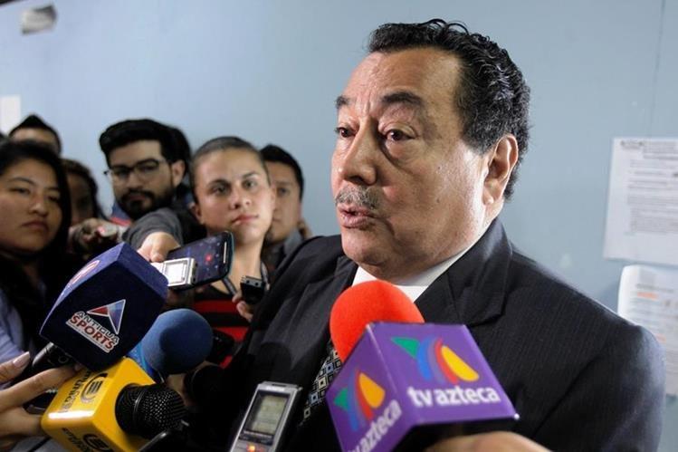 Alfonso Cabrera, ministro de Salud, presentó su renuncia este miércoles. (Foto Prensa Libre: Hemeroteca PL)