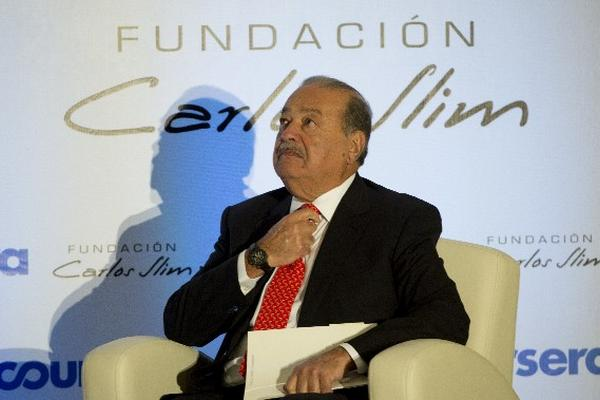 Carlos Slim,    magnate de las telecomunicaciones, ocupa el cuarto lugar de los más ricos del mundo