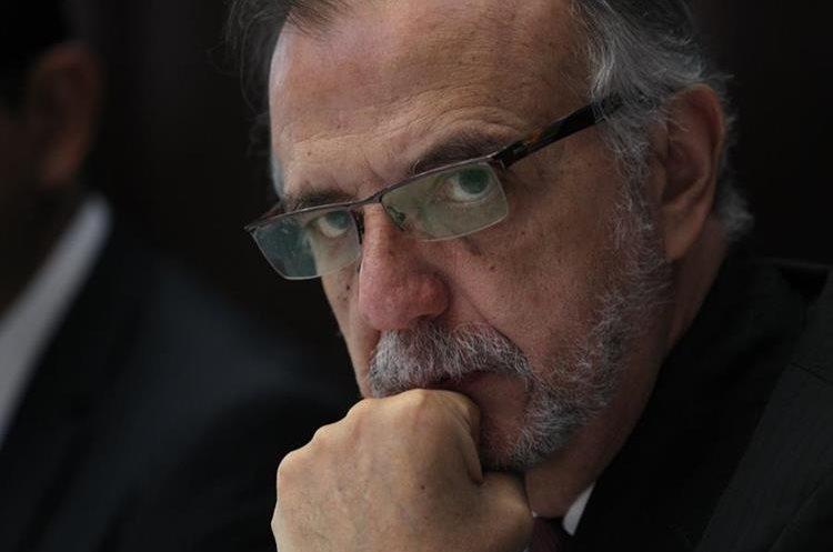 Iván Velásquez encabeza una investigación por financiamiento electoral ilícito que involucra al presidente Jimmy Morales. (Foto Prensa Libre: Hemeroteca PL)