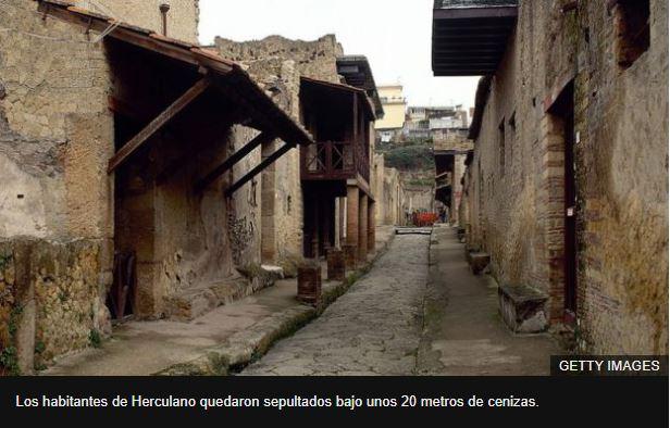 Cómo murieron los habitantes de Pompeya y Herculano después de la erupción del Vesubio