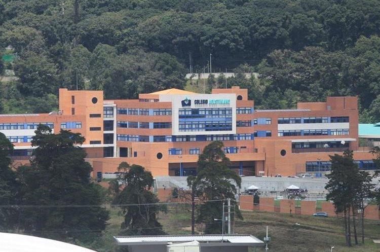 El colegio Agustiniano recientemente obtuvo un reconocimiento por la calidad de construcción y diseño de sus instalaciones. (Foto Prensa Libre: Esbin García)