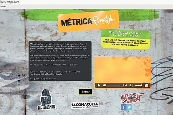Métrica Freestyle es una aplicación que permite escribir poemas de manera fácil y sencilla. (Foto Prensa Libre).