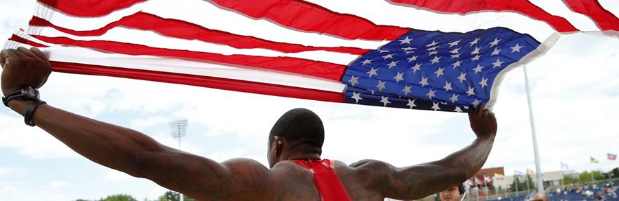 La delegación estadounidense no dio tregua y se coronaron campeones. (Foto Prensa Libre: EFE)