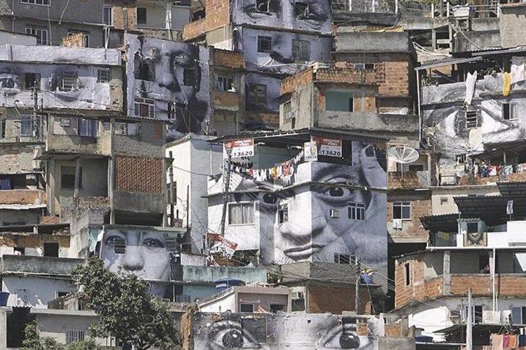 (Imagen de referencia). Vista de una favela en Río de Janeiro, Brasil. (Foto Prensa Libre: Hemeroteca PL).