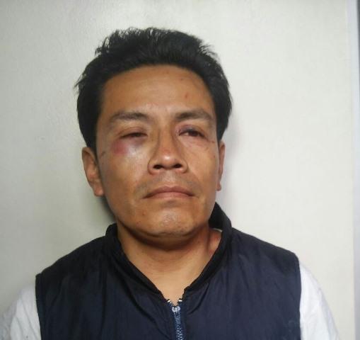 Leonel Adán González de Botzoc agredió a una adolescente de 14 años en un autobús. (Foto Prensa Libre: PNC)