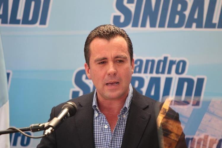 Alejandro Sinibaldi es prófugo de la justicia por el caso Construcción y Corrupción. (Foto Prensa Libre: Hemeroteca PL)