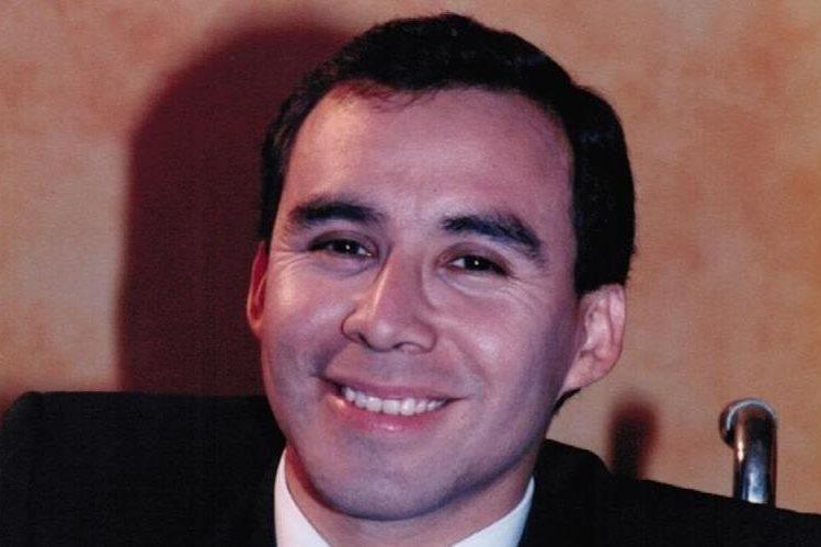 El guatemalteco David Ruano Lemus cumple 25 años de ejercer la abogacía. Hoy, reside en Silver Spring, Maryland, EE. UU. Foto Prensa Libre: Cortesía de David Ruano.
