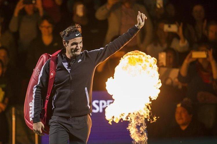 Federer quiere volver a la cima del tenis mundial. (Foto Prensa Libre: EFE)