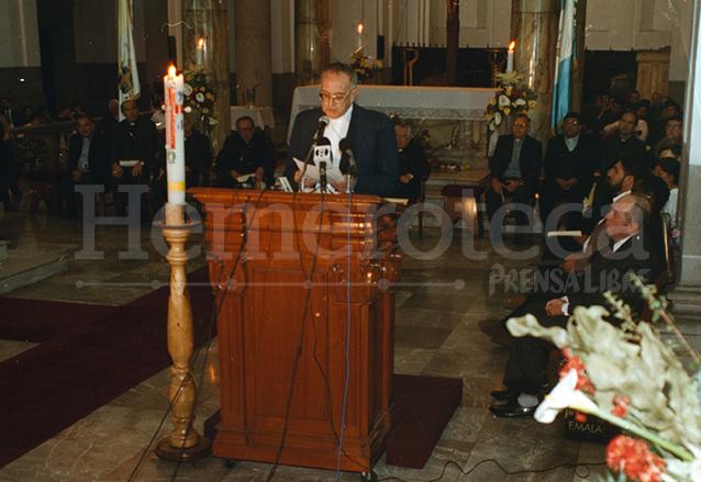 Monseñor Gerardi fue asesinado dos días después de haber presentado el Remhi el 24 de abril de 1998. (Foto: Hemeroteca PL)