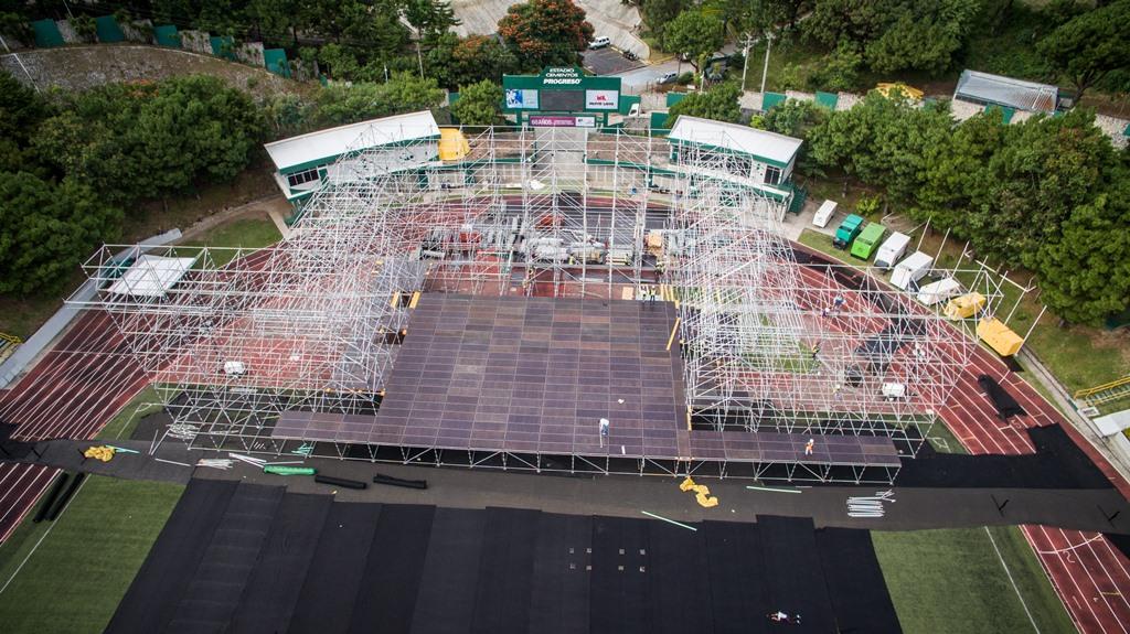 El Estadio Cementos Progreso será el recinto en el que cante Metallica. (Foto Prensa Libre: Cortesía SD Concerts Guatemala)