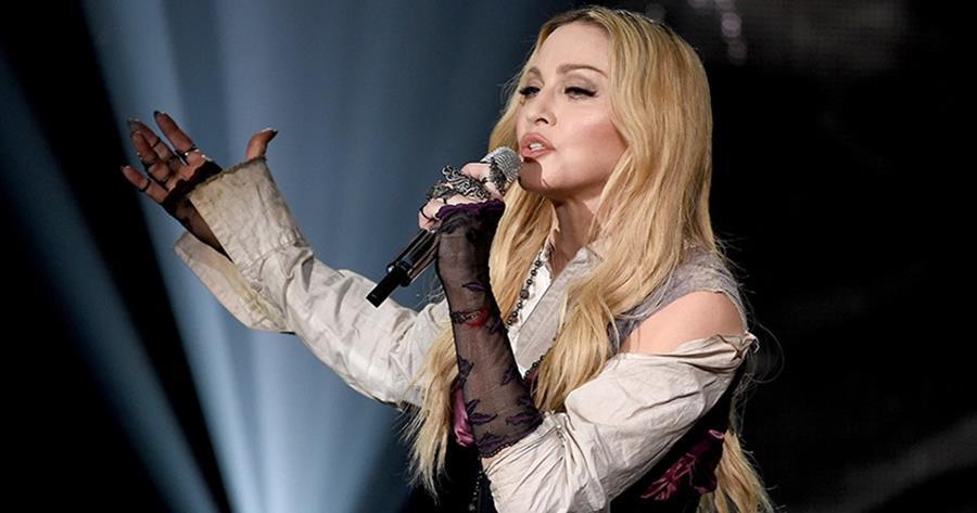 Madonna apareció en la revista Playboy por unas fotos tomadas cuando era joven (Foto Prensa Libre: AFP).