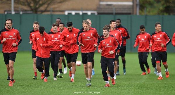 Los dirigidos por Jürgen Klopp se preparan para el duelo frente al Manchester City. (Foto Prensa Libre: Liverpool)