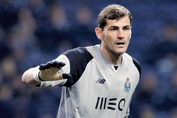 Iker Casillas podría jugar en la Ligue 1. (Foto Prensa Libre: Hemeroteca PL)