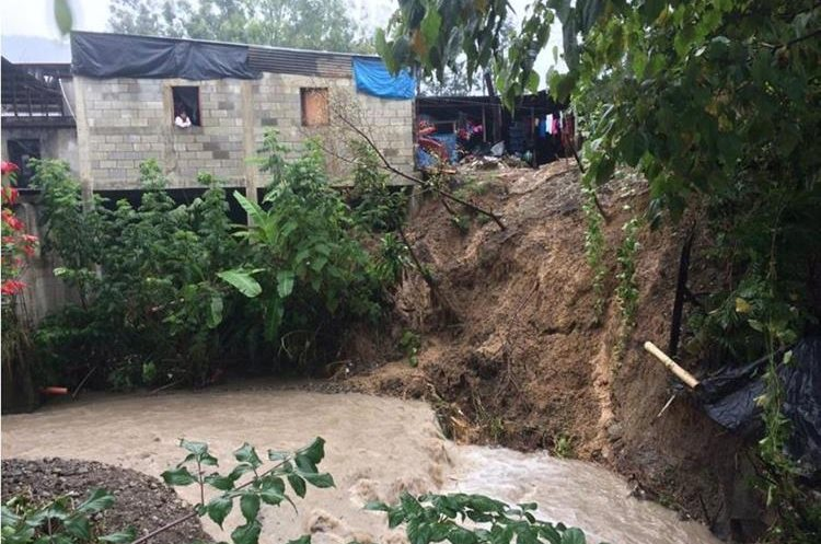 En Barillas, Huehuetenango, se reportan inundaciones. (Foto Prensa Libre: Cortesía Conred)