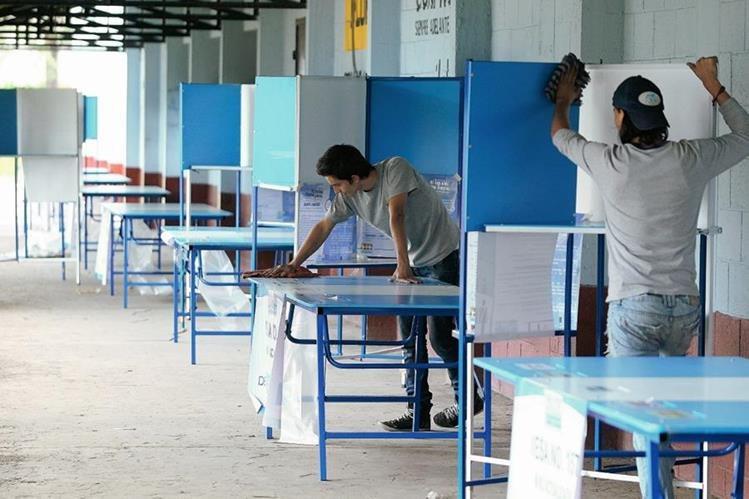 El próximo 6 de septiembre se disputarán 3 mil 959 puestos de elección popular. (Foto Prensa Libre: Hemeroteca PL)
