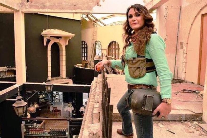 La mexicana Gislenne Zamayoa fundó su propia empresa de arquitectura, Arquia, como mujer transgénero. GISLENNE ZAMAYOA